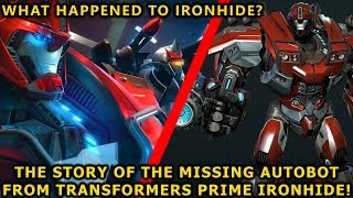 The Story Of Ironhide The Deleted Autobot War Veteran From TF Prime(Explained) - Transformers 2019