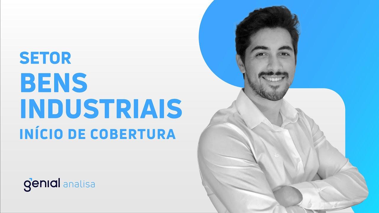 Thumbnail do vídeo: Início de Cobertura – Setor de Bens Industriais // Ygor Araújo