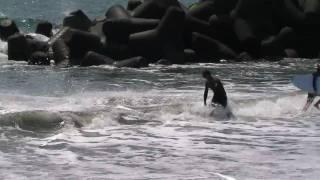 スキムボード動画 2010-5-30サンビーチ一ッ葉