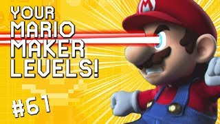 A-GAME GETS ANGRY: YOUR Mario Maker Levels #61