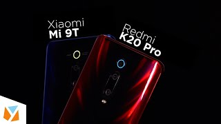 Xiaomi Mi 9T vs Xiaomi Redmi K20 Pro Comparison Review