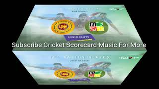 Bangladesh, Sri Lanka and Zimbabwe Tri Nation 2018 Scorecard Music