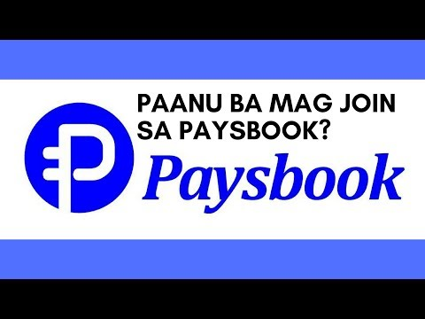 PAANU MAG JOIN SA PAYSBOOK? / BY: Marie Boomhower