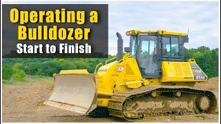 How to Operate a Bulldozer (2019): Pre-Op to Shutdown | Heavy Equipment Operator