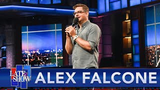 Alex Falcone Performs Stand-Up