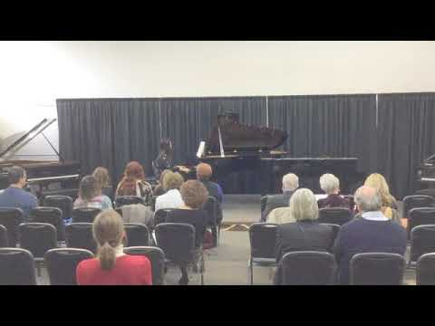 Short clip of me playing a classical piano piece