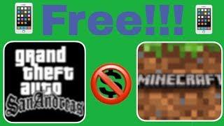 Как скачать платные игры и приложения абсолютно бесплатно на IOS и Android!
