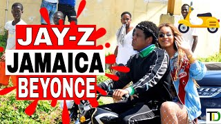 JAY-Z and BEYONCE brought EXCITEMENT to TRENCH TOWN with VIDEO SHOOT - Teach Dem