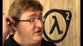 Gabe Newell Гейб Ньюэлл на GC 2006