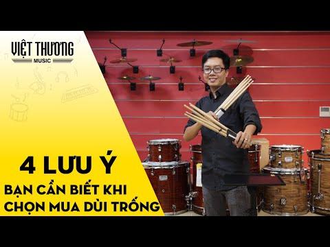 4 lưu ý mà bạn cần biết khi chọn mua dùi trống   Việt Thương Music