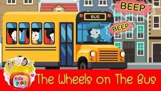 The Wheels on The Bus | เพลงเด็กภาษาอังกฤษ