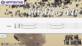 bring me the horizon medicine guitar tab - TH-Clip