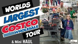 WORLD'S BIGGEST COSTCO HAUL From The BIGGEST COSTCO IN THE WORLD!  🌎 FULL TOUR & HAUL