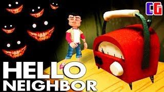 Hello Neighbor BECAME SMALL and WENT fears of a DOUBLE-JUMP Nightmares Act 3