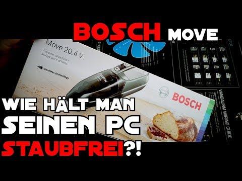 PC - Staubgebläse oder Staubsauger?! BOSCH Move 2017 [de]