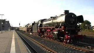 preview picture of video '41 096 & 01 509 in Halberstadt'