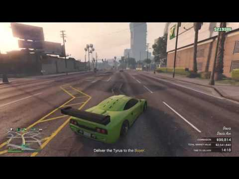 GTA V: Import/Export Selling Cars , Making Millions
