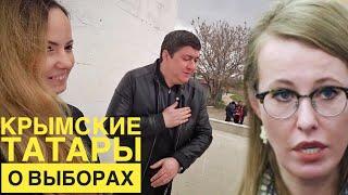 Опрос: Крымские ТАТАРЫ о выборах 2018. Путин или ...? Крым