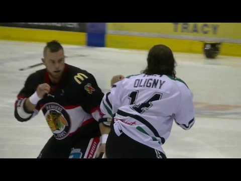 David Lacroix vs. Steven Oligny