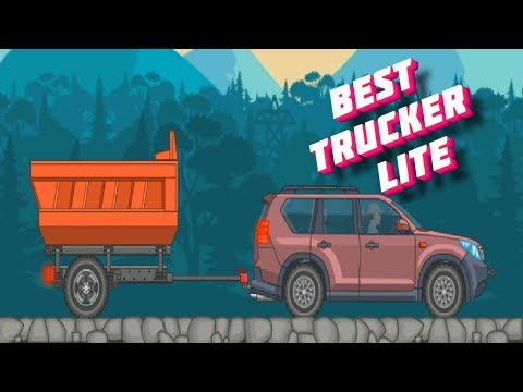 Playing the Game Best Trucker Lite transferring iron to a steel plant