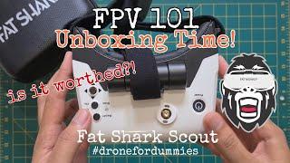FPV 101: Unboxing Fat Shark Scout / FPV Goggle terbaik untuk pemula! #DroneForDummies