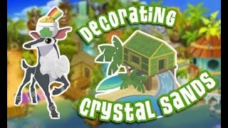 Image of: Fandom Redecorating Crystal Sands With Insane Glitch Animal Jam Cell Code Sandy Shores Animal Jam 免费在线视频最佳电影电视节目 Viveosnet