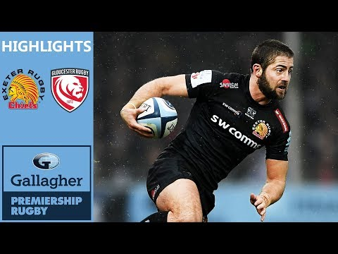 12aa3f975c4 Exeter Chiefs v Gloucester Rugby | Gallagher Premiership Highlights