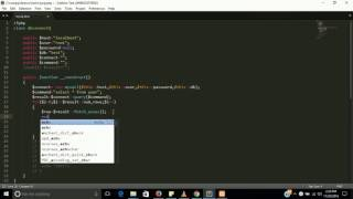 Fetch mysql data with for loop in oops php   learn php step by step