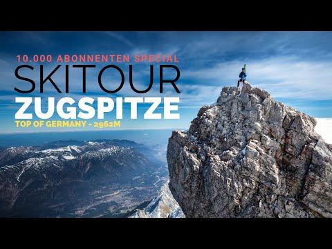 Zugspitze 2962m als Skitour möglich