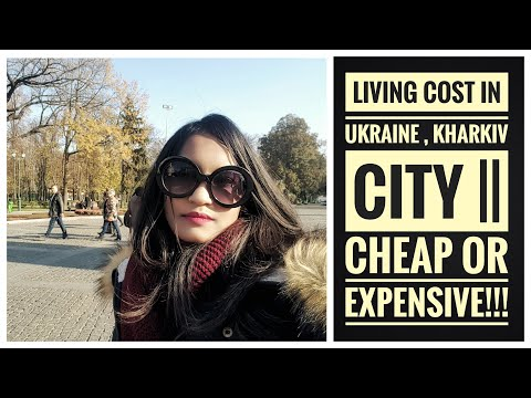 Living cost in Ukraine, Kharkiv city || Cheap or Expensive