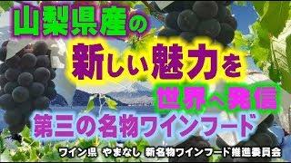 山梨県の新しい魅力を世界へ発信「第三の名物ワインフード」 Go!Go!NBC!