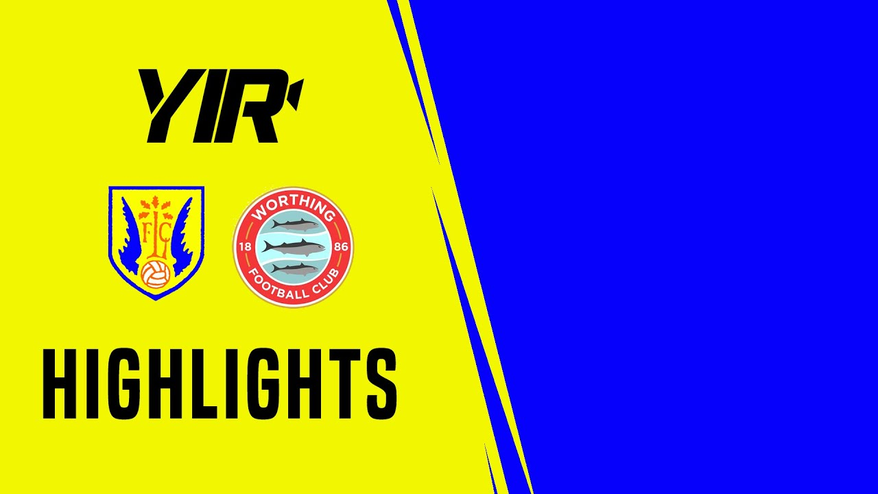 Thumbnail for Highlights: Lancing 1 Worthing 4 (Friendly)