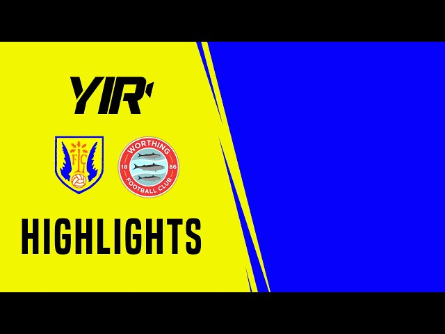 Highlights: Lancing 1 Worthing 4 (Friendly)