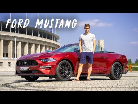 Ford Mustang Cabrio mit dem 2.3 EcoBoost Motor im Test (2019)