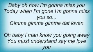 Dr. Alban - Gimme Dat Lovin Lyrics