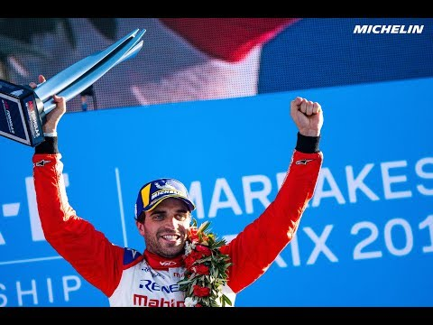 Highlights Marrakesh EPrix - 2018/2019 ABB FIA Formula E - Michelin Motorsport