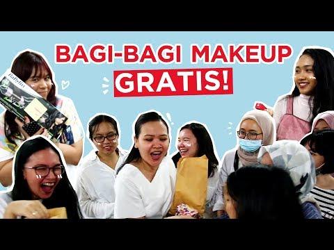 Bagi-Bagi Makeup Gratis di Kantor Female Daily?