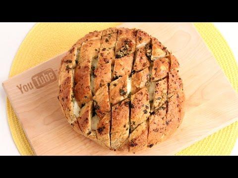 Pull Apart Garlic Bread Recipe – Laura Vitale – Laura in the Kitchen Episode 914