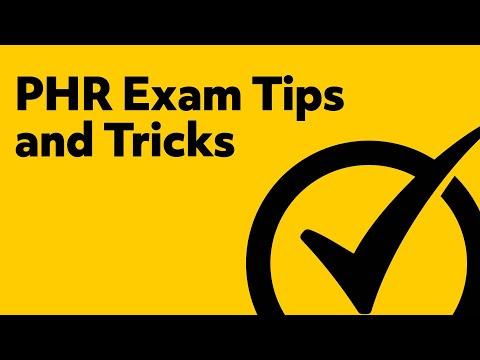 PHR Exam Tips & Tricks - YouTube