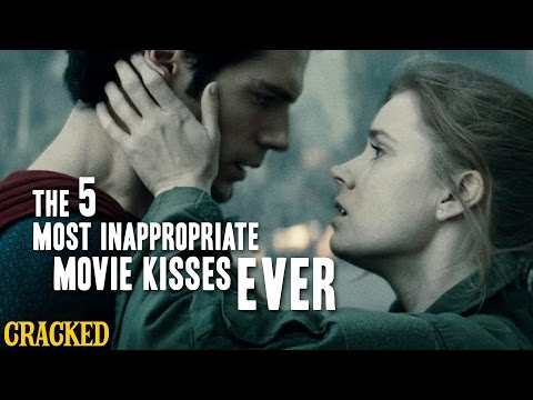 The 5 Most Inappropriate Movie Kisses Ever