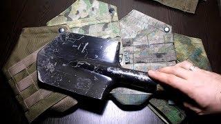 Подсумок под лопату (МЛП) от компании Военное тактическое снаряжение Вотан - видео