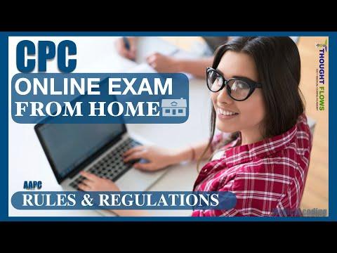 CPC EXAM FROM HOME II ONLINE AAPC EXAM II ... - YouTube