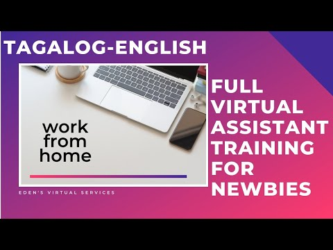 FREE ALL IN Virtual Assistant Training - YouTube