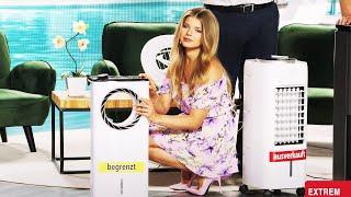 Diana bleibt cool mit den Ventilatoren und Luftkühlern von PEARL TV
