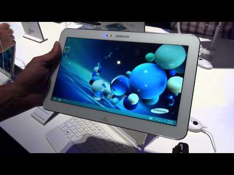 Samsung ATIV Tab 3 10.1 mit Tastatur Case im Hands-On