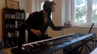 Feelin'   Moa McKay  & The Flying Cabaret Keyboard Cover )l(