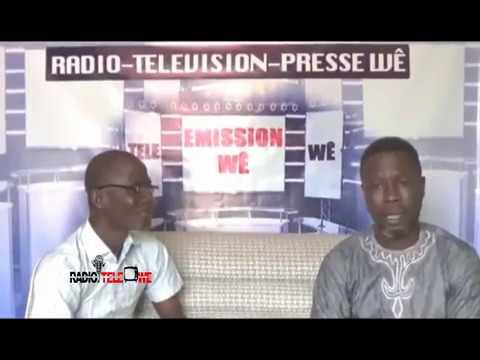 Emission au coeur des artistes Wê de la RTPW avec Balou 1er