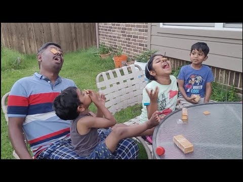 Biscuit Eating Without a touch inspired from @Pimpom Lifestyle / USA Tamil Vlog / 3D Playhouse