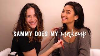 Sammy Does My Makeup | Shay Mitchell