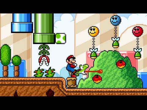 Super Mario Bros  X (SMBX 1 4 2) Custom Level -